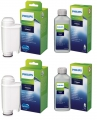 2 x Saeco Philips CA6702/10 Intenza Plus + 2 x 250ml Saeco Entkalker Wartungsset