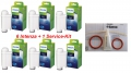 Saeco Philips Brita Intenza Wasserfilter 6 St.+ 1 x Saeco Service-Kit 21001031